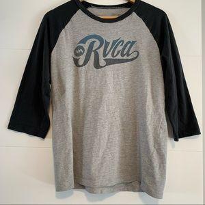 RVCA | Branded Baseball Tee Shirt